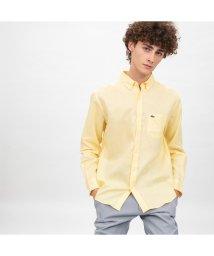 LACOSTE Mens/リネンボタンダウンシャツ/501971401