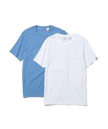 Levi's/スリム2パックTシャツ WHITE / ARCTIC BLUE/501971726