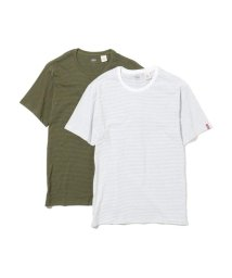 Levi's/スリム2パックTシャツ OLIVE NIGHT / BLACK/501971727