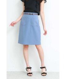 PROPORTION BODY DRESSING/ポイントベルトポケットタイトスカート/501971800