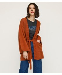 SLY/CROSS OVER COTTON KNIT GOWN/501971869