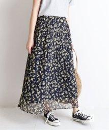 SLOBE IENA/フラワープリント プリーツ スカート◆/501972352