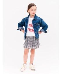 SNIDEL/KIDSビッグロゴTシャツ/501973817