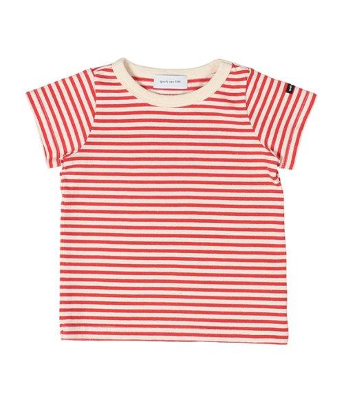 quoti use fith(クオティ ユース フィス)/20/2 ミニバスクBDテンジク 半袖 Tシャツ/9192414