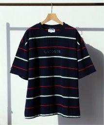 EDIFICE/《予約》LACOSTE / ラコステ別注 ボーダーTシャツ/501974046