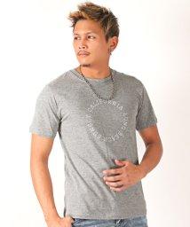 LUXSTYLE/サークルロゴプリント半袖Tシャツ/Tシャツ メンズ 半袖 サークル ロゴ プリント/501974297