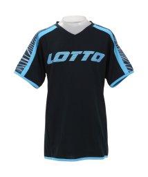 lotto/ロット/キッズ/ジュニア半袖プラクティスシャツ/501974477
