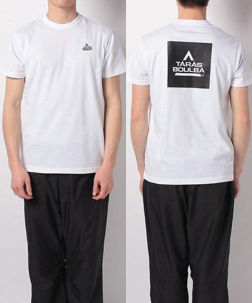 TARAS BOULBA(タラスブルバ)/タラスブルバ/メンズ/スクエアロゴ Tシャツ/61379954