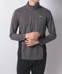 Alpine DESIGN/アルパインデザイン/メンズ/ハーフジップ長袖シャツ/501974551