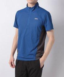 Alpine DESIGN/アルパインデザイン/メンズ/ハーフジップ半袖シャツ/501974553