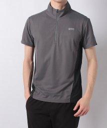 Alpine DESIGN/アルパインデザイン/メンズ/ハーフジップ半袖シャツ/501974554