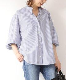 Spick & Span/ストライプオーバードレイプシャツ/501977761