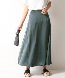 Spick & Span/サテンイレギュラーヘムラインスカート/501977769