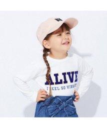 apres les cours/ロゴプリント長袖Tシャツ/501214628