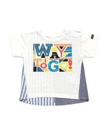 BREEZE / JUNK STORE/バック切替Tシャツ/501588990