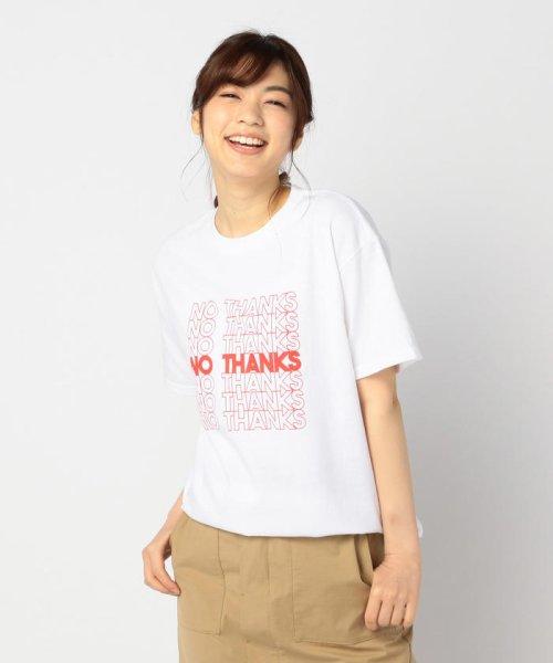 FREDY&GLOSTER(フレディアンドグロスター)/【GMT/ジェネラルミーンティーシャツ】NO THANKS Tシャツ/9-0369-2-23-010