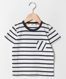 koe kids/エシカルボーダーポケットTシャツ/501970362