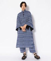 BEAVER/BOHEMIANS/ボヘミアンズ BLUE IKAT LOMG PAKE MUU/ワンピース/501978237