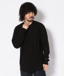 BEAVER/BEAVER/ビーバー MINI LOGO LS TEE/ミニロゴ長袖T/Tシャツ/501978252