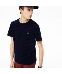 LACOSTE Mens/チョークボーダークルーネックTシャツ/501978284