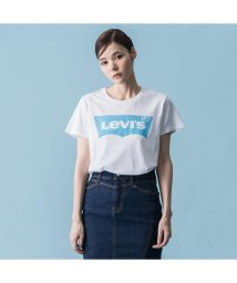 Levi's/パーフェクトTシャツ HSMK BLUE WHITE GRAPHIC/501978406