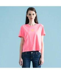Levi's/グラフィックTシャツ SPTWR PFD WASHED NEON PINK/501978430
