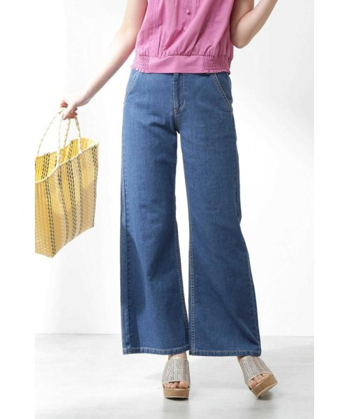 PROPORTION BODY DRESSING(プロポーション ボディドレッシング)/ CanCam 5月号掲載 シルケットデニムパンツ/1219130901