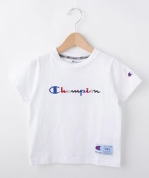 THE SHOP TK(KID)/Champion ロゴ刺繍Tシャツ/501978808