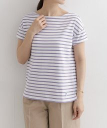 URBAN RESEARCH DOORS/ORCIVAL 40/2 STRIPE 半袖Tシャツ/501979281