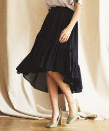 LANVIN en Bleu/メニーギャザースカート/501935989