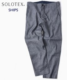 SHIPS MEN/SC: SOLOTEX(R) サフィラン リネン ハイブリッド イージー パンツ/501938704