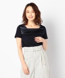 NOLLEY'S sophi/サテン切替Tシャツ/501964640