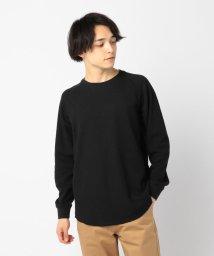 GLOSTER/ワッフル ロングスリーブTシャツ/501964703