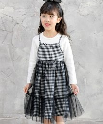 子供服Bee/重ね着風長袖ワンピース/501966264