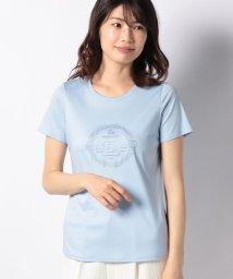LAPINE BLEUE/スイスコットンエンブロイダリーTシャツ/501967121