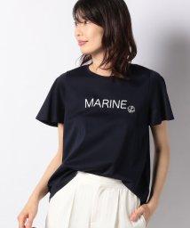 LAPINE BLEUE/スイスコットンプリントTシャツ/501967122