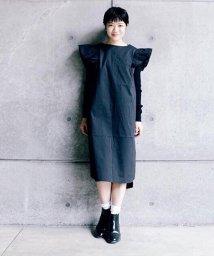 arm in arm/フリル袖ドレス/501969880