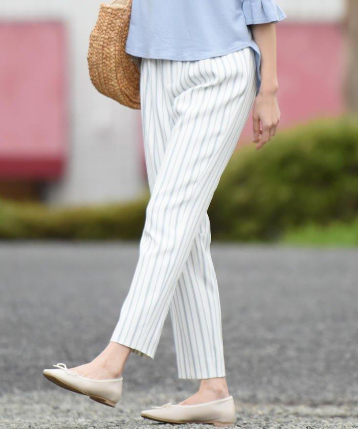 【19SS叶えるシリーズ】 シェルタリングドライふわり動体裁断パンツ