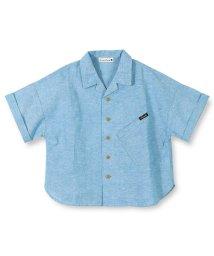 branshes/コットンリネン半袖シャツ(90~150cm)/501972306