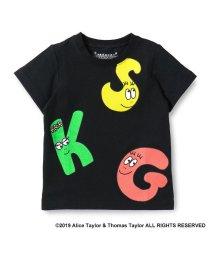 skeegee/バーバパパ SKGビッグロゴプリントTシャツ/501972324