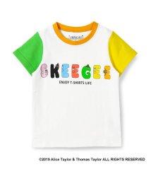 skeegee/バーバパパ ロゴプリント袖切替Tシャツ/501972328