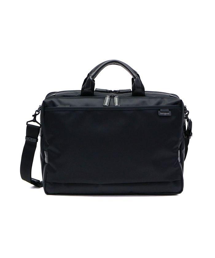 e972adb4e6bd ギャレリア サムソナイト Samsonite 2WAY ビジネスバッグ Debonair 4 Briefcase M Exp B4 DJ8 09003  メンズ ブラック
