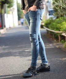RATTLE TRAP/追加生産決定【ハイパーストレッチスキニー】リペアデニム/501975861