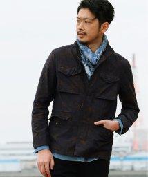 Men's Bigi/M-65 ミリタリージャケット /トロピカルアロハ柄/501976407