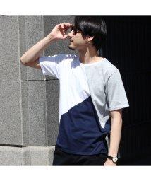 UNION STATION/パネル切り替えTシャツ/501976722