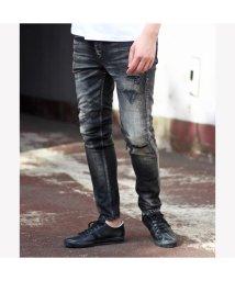 RATTLE TRAP/【BOBSONボブソン】別注distressed jeans【雑誌Safari(サファリ)12月号掲載商品】/501976985