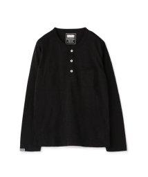 RATTLE TRAP/【雑誌Safari(サファリ)11月号掲載】Health Knit別注ヘンリーネックロングスリーブTシャツ/501977007