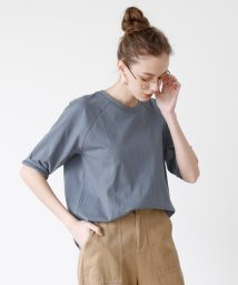 titivate/オーバーサイズラグランスリーブコットンTシャツ/501979536