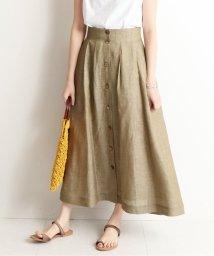 SLOBE IENA/フロントボタンタックロングスカート◆/501980670