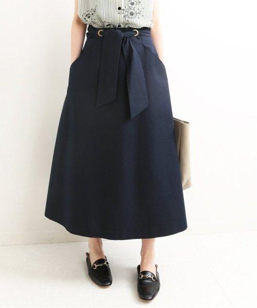 IENA(イエナ)/ツイルリボンスカート◆/19060900510020